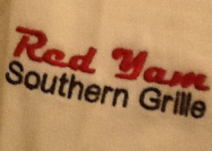 Red Yam Logo on sleeve2